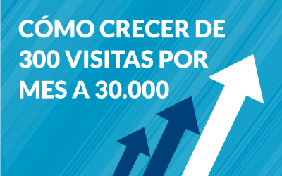 Cómo aumentar visitas en tu web. De 300 visitas por mes a 30.000